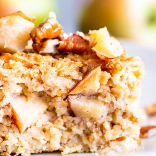 Cinnamon Apple Baked Oatmeal | THM E