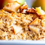 Cinnamon Apple Baked Oatmeal Image TK