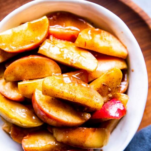 Healthy Cinnamon Apples | THM E