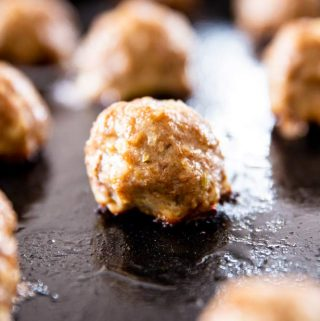 Easy Homemade Meatballs Image TK