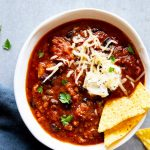 Instant Pot Pumpkin Chili Image TK