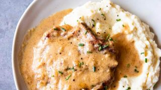 Instant Pot Sour Cream Pork Chops