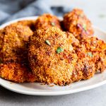 Low Carb Oven Fried Chicken Image TK