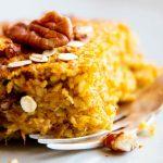 Pumpkin Baked Oatmeal THM Image TK