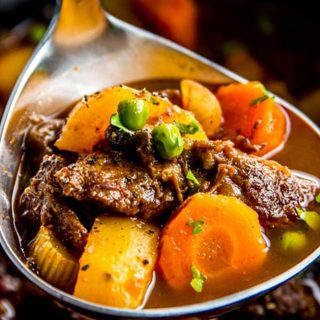 Slow Cooker Beef Stew Image TK