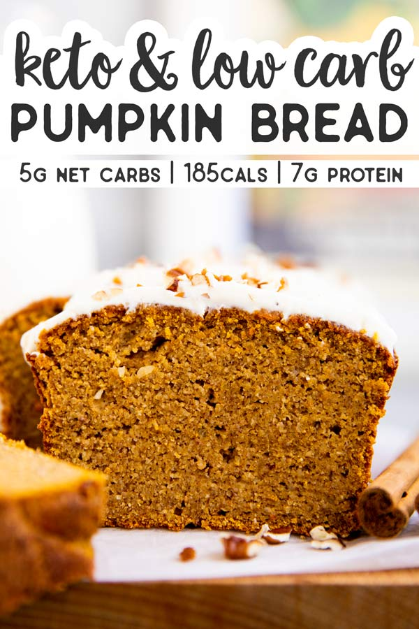 Keto Pumpkin Bread Pin 2
