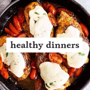 Healthy Dinner Image Link